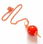 CLEARANCE REJECTS Carnelian Copper Sephoroton Pendulum